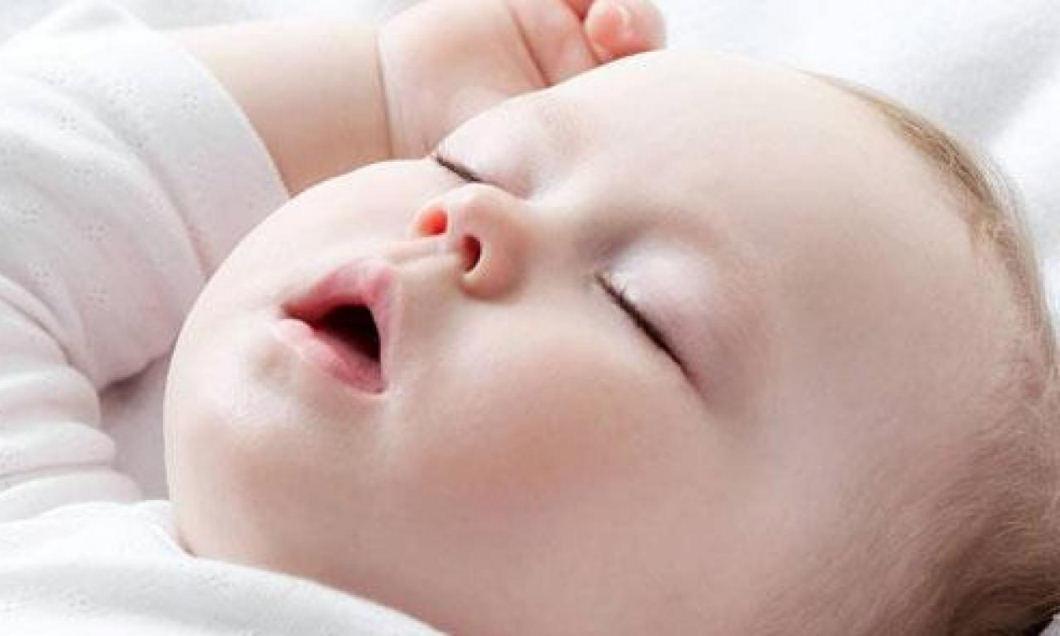 mi bebe respira por la boca